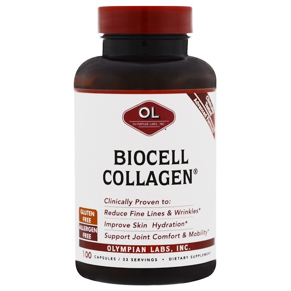 Olympian Labs Inc., BioCell Collagen, 100 Capsules