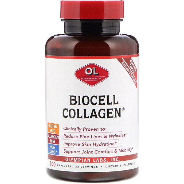 BioCell Collagen, 100 Capsules
