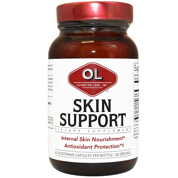 Olympian Labs Inc., Skin Support, 60 Capsules (Discontinued Item)