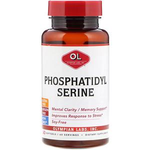 Олимпиан Лэбс, Phosphatidylserine, 60 Softgels отзывы