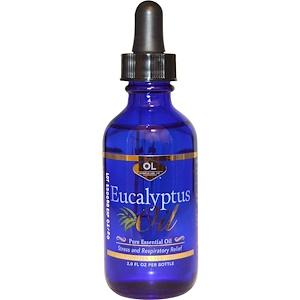 Олимпиан Лэбс, Eucalyptus Oil, 2.0 fl oz отзывы