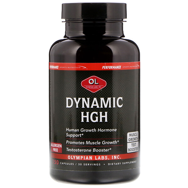 Dynamic HGH, 150 Capsules