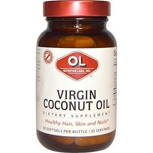 Олимпиан Лэбс, Virgin Coconut Oil, 60 Softgels отзывы