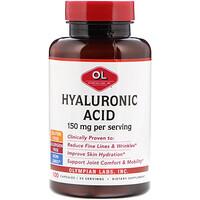 Гиалуроновая кислота, 150 мг, 100 капсул - фото