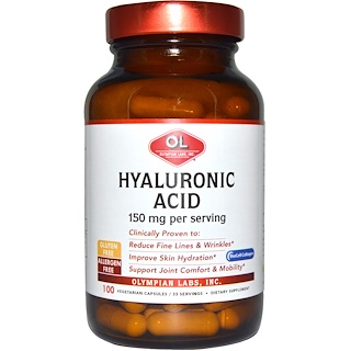 Olympian Labs Inc., Hyaluronic Acid, 150 mg, 100 Veggie Caps