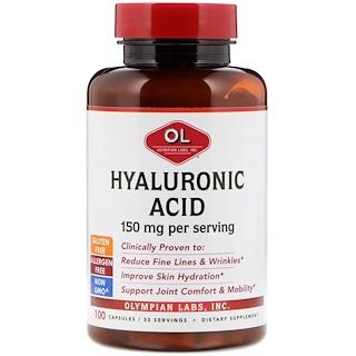 Olympian Labs Inc., Hyaluronic Acid, 150 mg, 100 Capsules