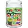 Olympian Labs Inc., Ultimate Greens 8 in 1 with Protein, Delicious Blueberry Flavor, 18.3 oz (518 g) (Discontinued Item)