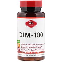 Olympian Labs, DIM-100,60 粒素食膠囊