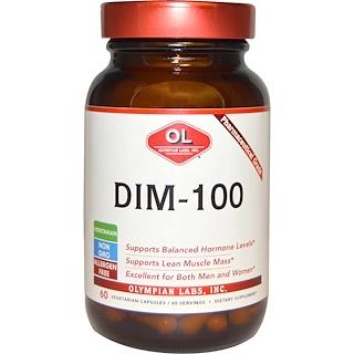 Olympian Labs Inc., DIM-100, 60 Vegetarian Capsules