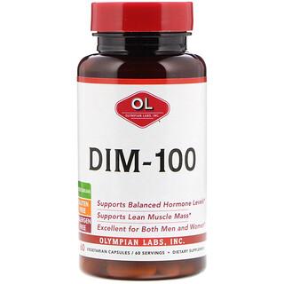 Olympian Labs Inc., كبسولات DIM-100، عدد 60 كبسولة نباتية