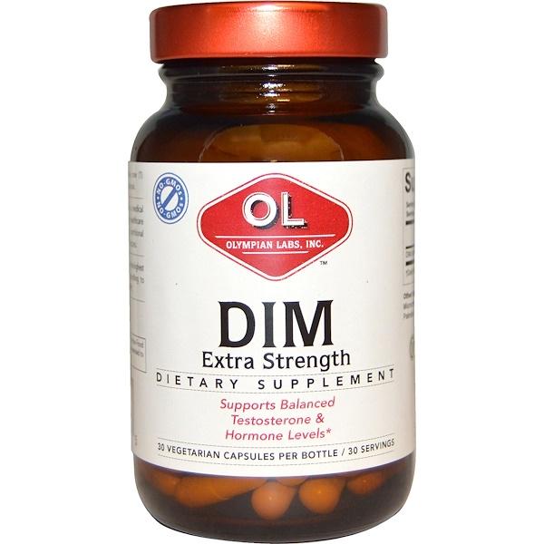 Olympian Labs Inc., DIM, Extra Strength, 30 Veggie Caps
