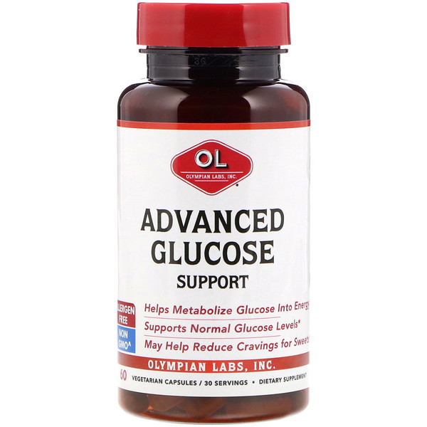 Advanced Glucose Support, 60 Vegetarian Capsules