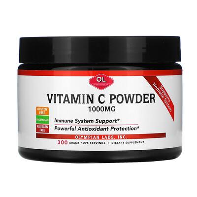 Olympian Labs Vitamin C Powder, 1,000 mg, 10.58 oz (300 g)
