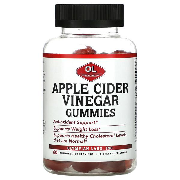 Apple Cider Vinegar Gummies, 60 Gummies