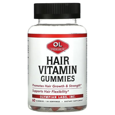 Olympian Labs Hair Vitamin Gummies, 60 Gummies