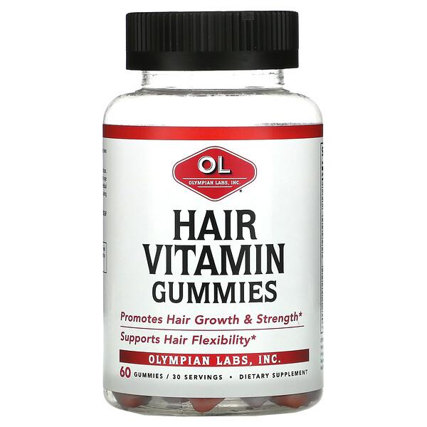 Hair Vitamin Gummies, 60 Gummies