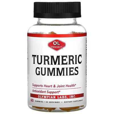 Olympian Labs Turmeric Gummies, 60 Gummies