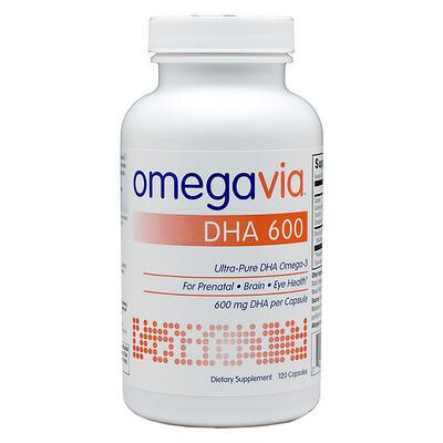 Купить OmegaVia ДГК600, 120капсул