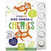 OmegaVia, 어린이용 오메가3 Chewies, 딸기 시트러스, 45개