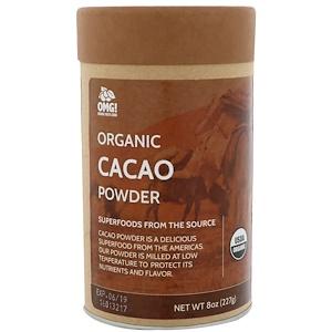OMG! Organic Meets Good, Organic, Cacao Powder, 8 oz (227 g) отзывы