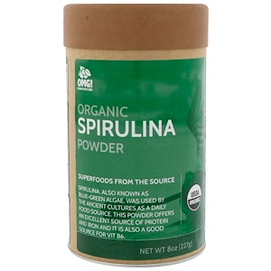 OMG! Organic Meets Good, Organic, Spirulina Powder, 8 oz (227 g) отзывы