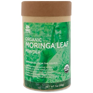 OMG! Organic Meets Good, Organic, Moringa Leaf Powder, 7 oz (198 g)