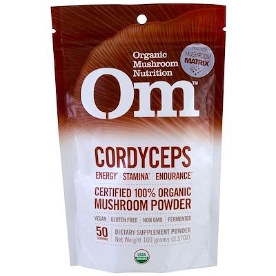 Кордицепс, грибной порошок, 3.57 унции (100 г) антинакипин 100 г золушка порошок б31 1