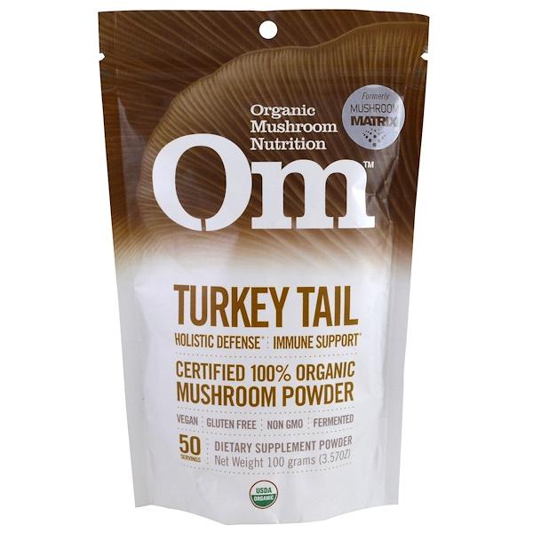 Organic Mushroom Nutrition, Трутовик разноцветный, грибной порошок, 3.57 унций (100 г) (Discontinued Item)