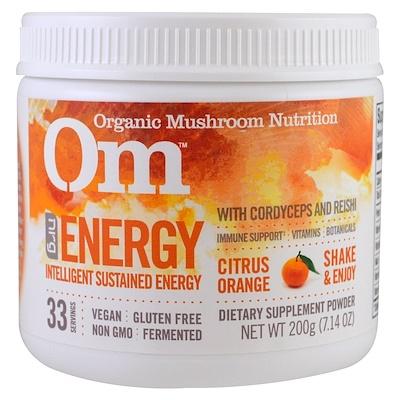 Купить Энергия, грибной порошок, цитрус апельсин, 7.14 унций (200 г)