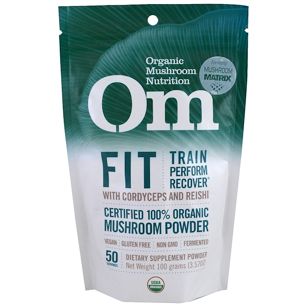 Organic Mushroom Nutrition, Fit, Mushroom Powder, 3.57 oz (100 g) (Discontinued Item)