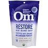 OM Organic Mushroom Nutrition, Restore, Mushroom Powder, 3.57 oz (100 g)