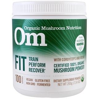 Organic Mushroom Nutrition, Fit, Mushroom Powder, 7.14 oz (200 g)