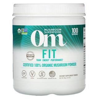 Om Mushrooms, Fit, Certified 100% Organic Mushroom Powder, 7.05 oz (200 g)