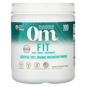 Om Mushrooms, Fit, Certified 100% Organic Mushroom Powder, 7.05 oz (200 g) отзывы