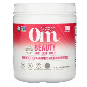 Om Mushrooms, Beauty, Certified 100% Organic Mushroom Powder, 7.05 oz (200 g) отзывы