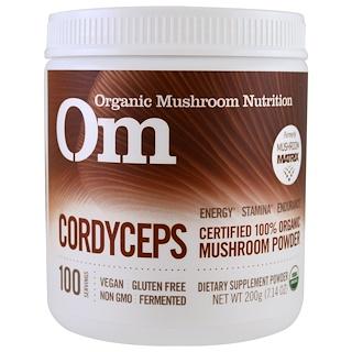 Organic Mushroom Nutrition, Cordyceps, polvo de hongo, 7.14 oz (200 g)