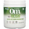 Om Mushrooms, Reishi, Certified 100% Organic Mushroom Powder, 7.05 oz (200 g)