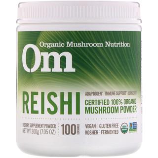 Organic Mushroom Nutrition, Reishi, Mushroom Powder, 7.05 oz (200 g)