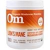 Organic Mushroom Nutrition, Lion's Mane, Mushroom Powder, 7.14 oz (200 g)