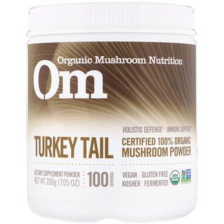 Organic Mushroom Nutrition, Cola de pavo, hongo en polvo, 7.14 oz (200 g)