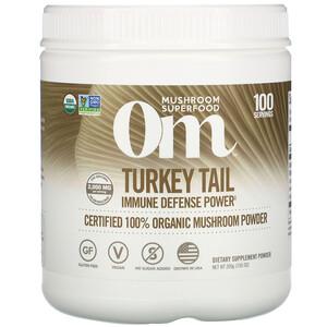 Om Mushrooms, Turkey Tail, Certified 100% Organic Mushroom Powder, 7.05 oz (200 g) отзывы