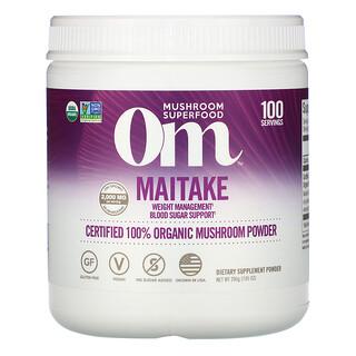Om Mushrooms, Maitake, Certified 100% Organic Mushroom Powder, 7.05 oz (200 g)