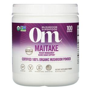 Om Mushrooms, Maitake, Certified 100% Organic Mushroom Powder, 7.05 oz (200 g) отзывы