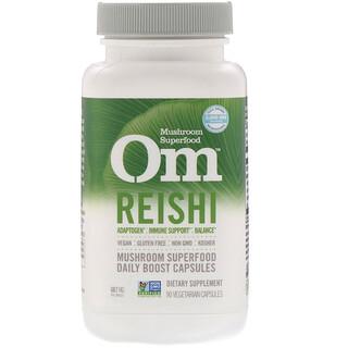 Organic Mushroom Nutrition, Reishi, 667 mg, 90 Vegetarian Capsules