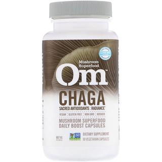 Organic Mushroom Nutrition, Chaga, 667 mg, 90 Vegetarian Capsules