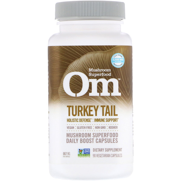 Turkey Tail, 667 mg, 90 Vegetarian Capsules
