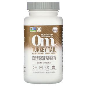 Om Mushrooms, Turkey Tail, 667 mg, 90 Vegetarian Capsules отзывы