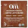 Om Mushrooms, Mushroom Powered Coffee Latte Blend,10 包,每包 0.28 盎司(8 克)。