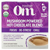 Om Mushrooms, Mushroom Powered Hot Chocolate Blend, 10 Packets, 0.28 oz (8 g) Each