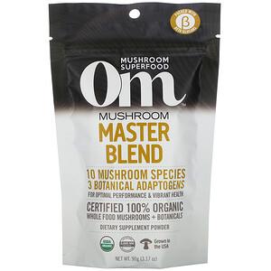 Om Mushrooms, Mushroom Master Blend, 3.17 oz (90 g)